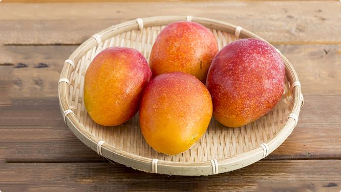 みずみずしいマンゴー